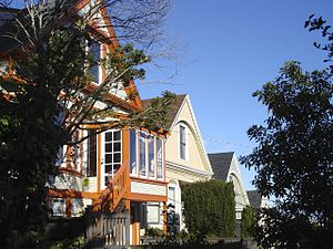 Noe Valley, San Francisco - Row houses in Noe Valley