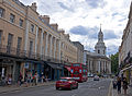 View down Nelson Road to St Alfege Church, Greenwich.jpg