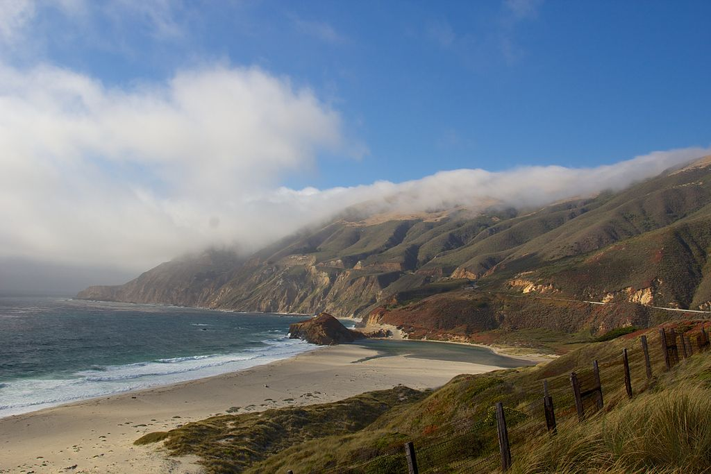 View from Highway 1, California 20