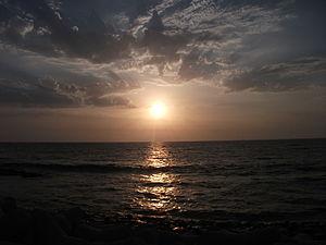 Worli - View of Arabian Sea from Worli Sea-face