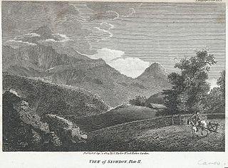 View of Snowdon: Plate II