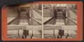 View of locks, showing a boat locking through, Lockport, N.Y, by F. B. Clench.png