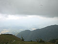 View on a mountains and valley from Bir-Billing.JPG