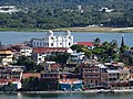 View over Flores Waterfront from Tayazal Lookout - Peten - Guatemala (15837060956).jpg