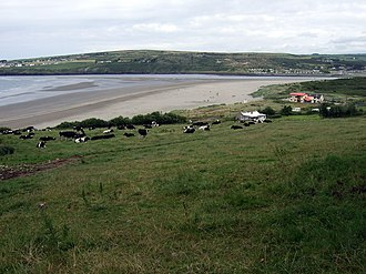 Pembrokeshire Coast Path - Poppit Sands, near the northern end of the trail