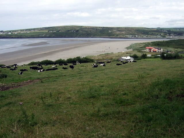 View over Poppit Sands - geograph.org.uk - 890616