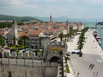 Trogir - Image: View over Trogir Croatia