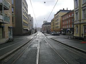 Vika Line - Image: Vikalinjen, retning Aker Brygge
