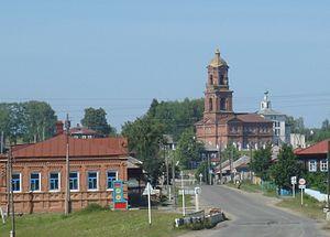 Cherdynsky District - The selo of Vilgort in Cherdynsky District