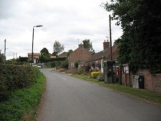 Thrintoft village in United Kingdom