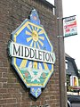 Village sign at Middleton-on-Sea - geograph.org.uk - 845938.jpg