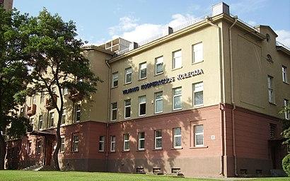 Kaip pateikti į Vilniaus Kooperacijos Kolegija viešuoju transportu - Apie vietovę