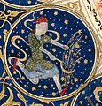 "Virgo - Horoscope from 'The book of birth of Iskandar"" Wellcome L0040141.jpg"
