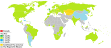 Visa policy of Grenada.png