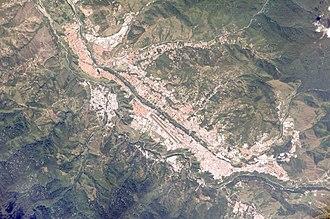 Mérida, Mérida - Aerial view of Mérida