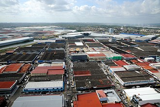 Colón Free Trade Zone - Aerial view of the Colón Free Zone
