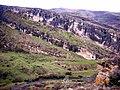 Vista desde la entrada de la cueva del Reguerillo, enero de 2006 03.jpg