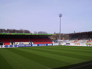 Die Voith-Arena in Heidenheim (April 2011)