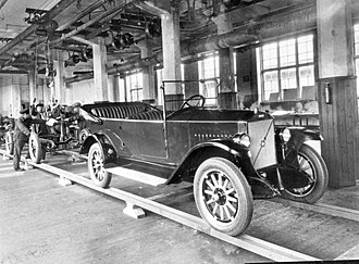 Volvo - The first Volvo car that left the assembly line on 14 April 1927.