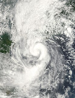 Tropical Storm Vongfong (2002) Pacific tropical storm in 2002