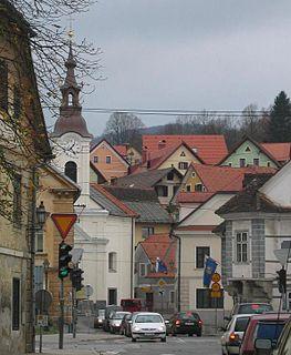 Vrhnika Place in Inner Carniola, Slovenia