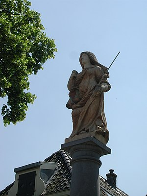 Hekendorp - Lady Justice in Hekendorp