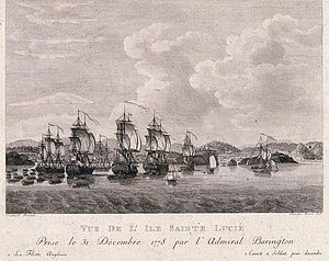 Capture of St. Lucia