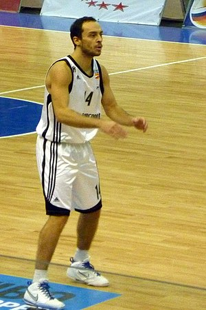 Vukašin Aleksić - Aleksić with Nizhny Novgorod in December 2010.
