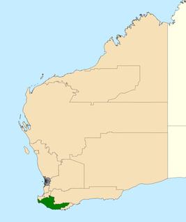 Electoral district of Warren-Blackwood State electoral district of Western Australia