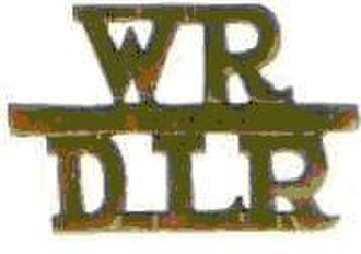 Regiment de la Rey - Badge worn by Wits-delaRey battalion after amalgamation.