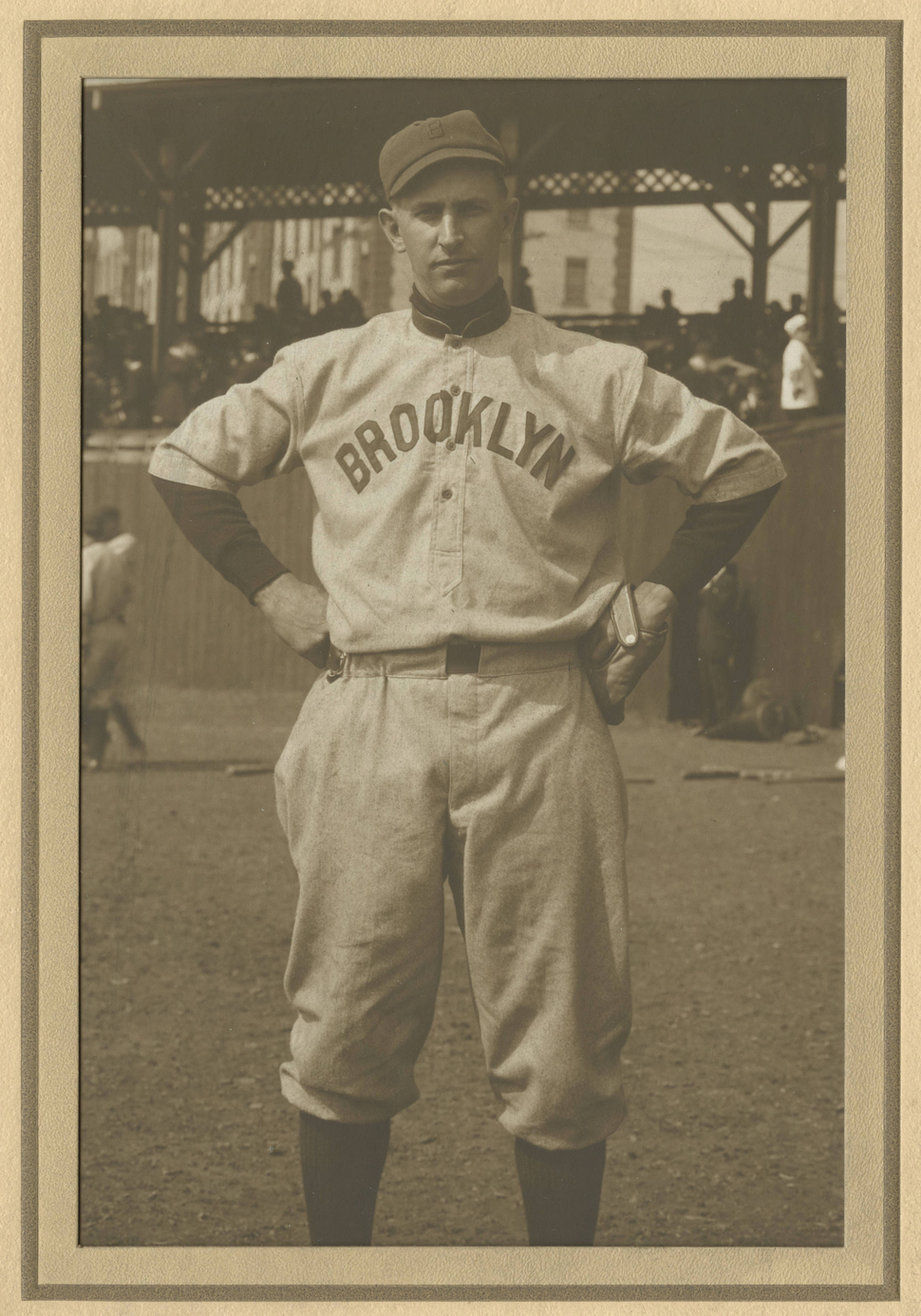 WJ Bradley in Brooklyn uniform Clev Pub Library