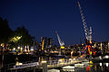 WLANL - Quistnix! - Havenmuseum - kranenschipbrug bij nacht 2.jpg