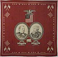 WLA nyhistorical Campaign Handkerchief of Cleveland ca 1888.jpg