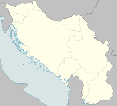 List of massacres in Yugoslavia is located in Occupied Yugoslavia
