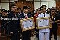 Wabup Sutjidra Hadiri Pelantikan Pejabat Gubernur Bali Hamdani.jpg