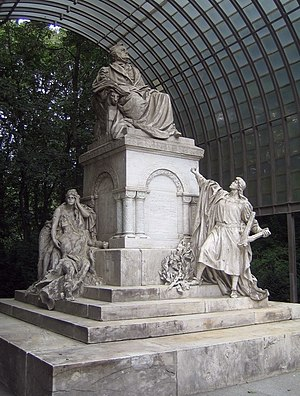 Richard Wagner Monument - The monument in 2007