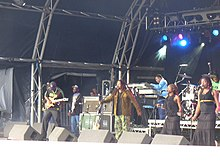 Description de l'image Wailers at Guilfest 2009 - geograph.org.uk - 1398517.jpg.