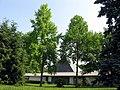 Waldfriedhof Gundelfingen, Einsegnungshalle.jpg