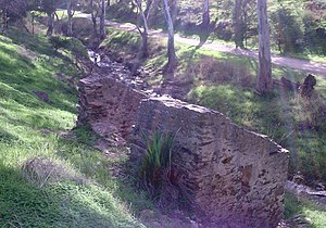Dry Creek (South Australia) - Dry Creek at Walkley Heights