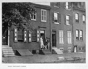 Walt Whitman House - The Walt Whitman House in Camden, New Jersey