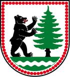 Das Wappen von Lauter/Sa.