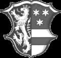 Wappen des Landkreises Neustadt an der Waldnaab laut Amtsblatt 2015 Nr.13.png