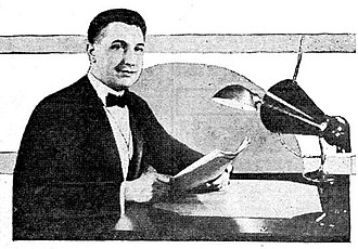 WHK (AM) - WHK founder Warren R. Cox (1923)
