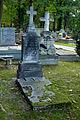 Warszawa - Reduta Wolska - cmentarz prawosławny - nagrobek z 1884 roku.jpg