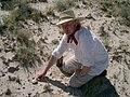 Warwick Fowler discovers Glyptodontopelta locality.jpg