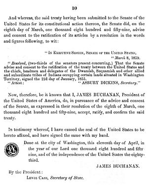 Washington edu Treaty betw. US & Duw. Suq. & other allied, 22Jan1855, Dwamish-10.JPG