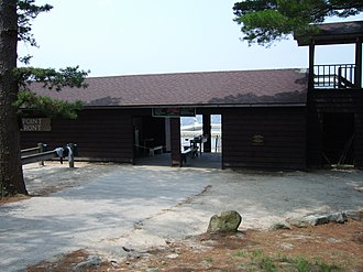 Yawgoog Scout Reservation - Camp Three Point Water Front
