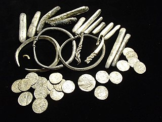 Watlington Hoard hoard of silver (and one gold) items and silver coins