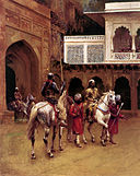 Weeks Edwin Indian Prince Palace Of Agra.jpg