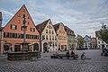 Weißenburg in Bayern, Marktplatz 3, 5, 7, 9-20160811-003.jpg